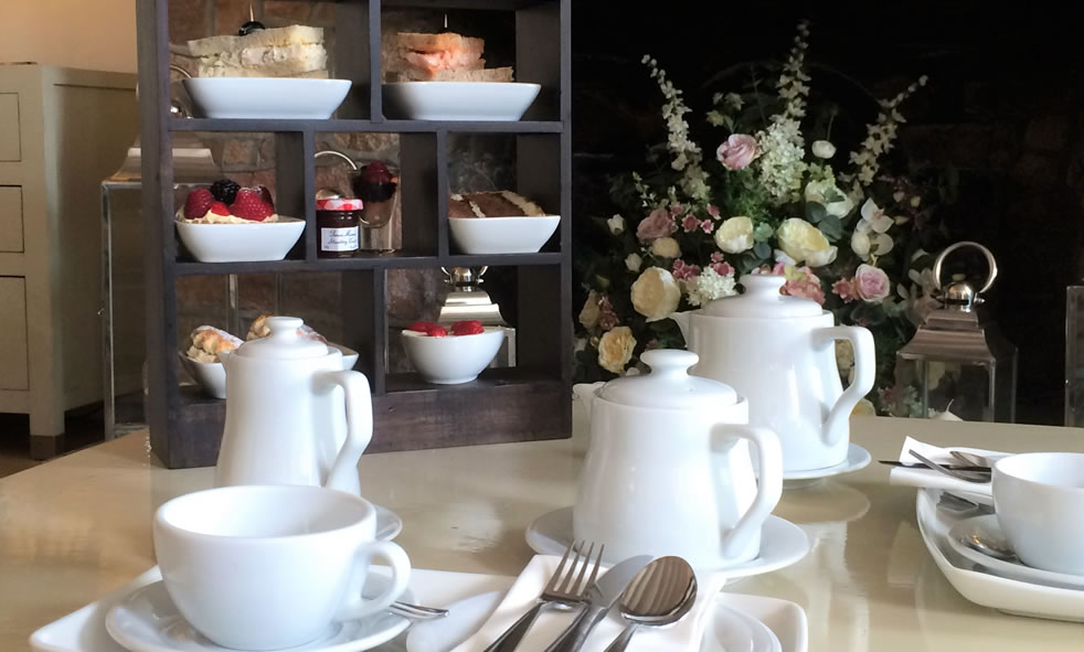 Afternoon tea at La Place Hotel, Jersey