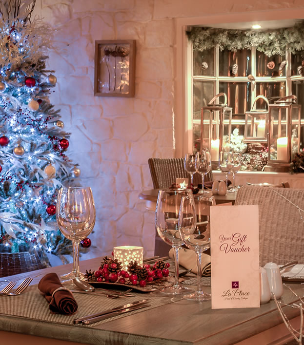 Festive Occasions at La Place Hotel, Jersey
