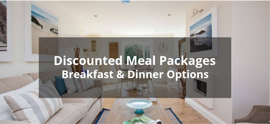 Discounted Meal Packages when you stay in our Cottages
