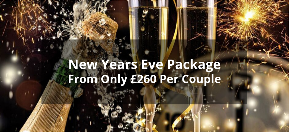 New Years Eve From £260 Per Couple