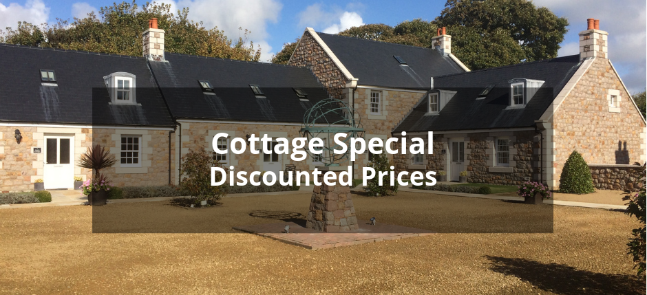 Discounted prices for selected dates in our cottages